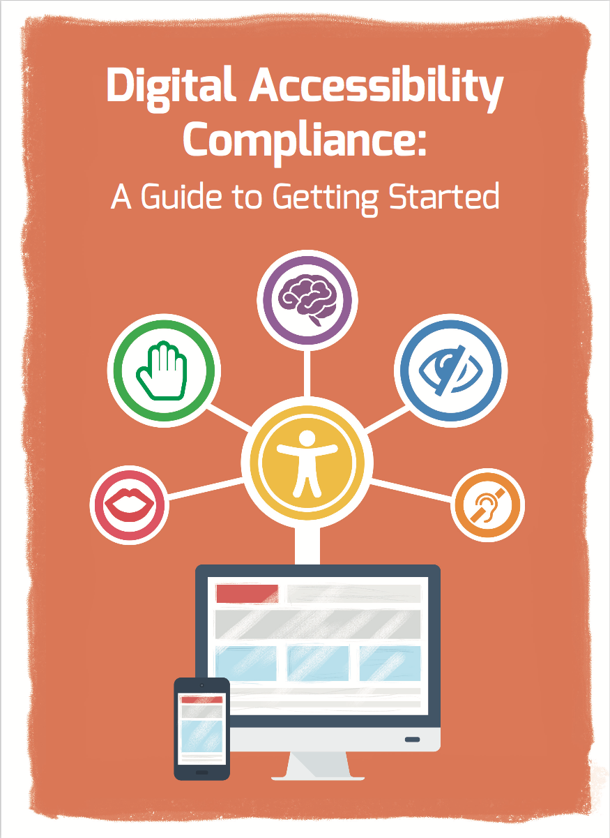 Cover of the Digital Accessibility Guide to Getting Started